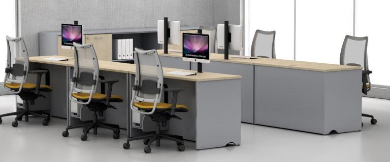 Desk vertical trap