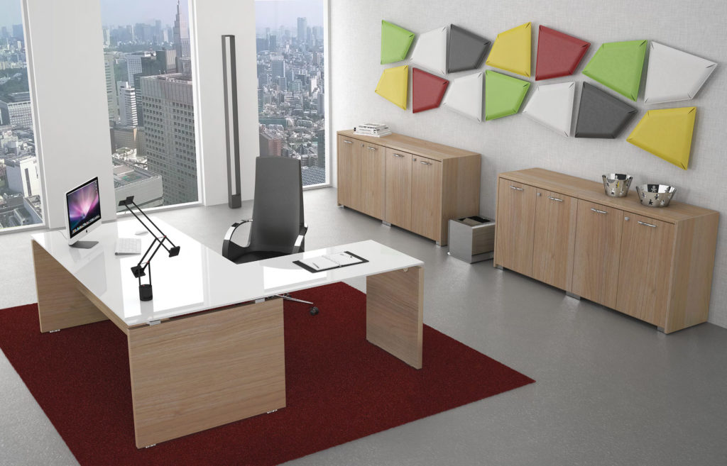 Uffici direzionali imo progettazione e produzione mobili for Produzione mobili ufficio