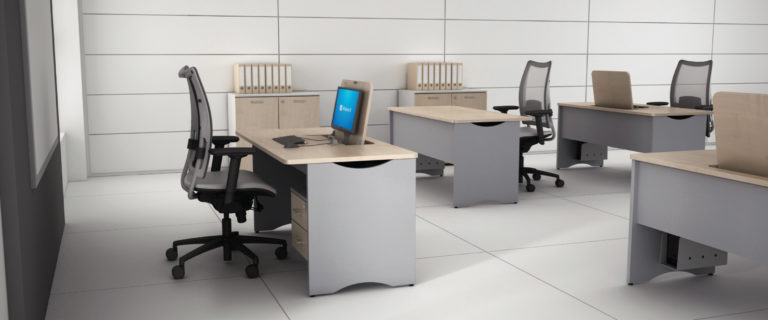 Reversible extra desk